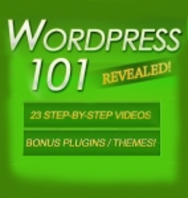 Product picture Wordpress 101 - 23 Videos PLR